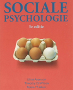 Sociale psychologie Samenvatting