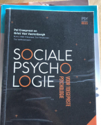 Samenvatting Sociale Psychologie 17/20